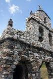 Kamienny Kościelny ` San Rafael De Mucuchies ` w Mérida, Wenezuela zdjęcia stock