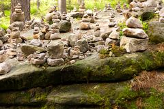 Kamienny kopiec Obrazy Stock