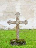 Kamienny krzyż Obrazy Royalty Free