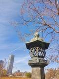 Kamienny lampion obrazy royalty free