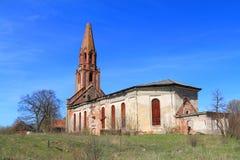 Kamienny Luterański kościół Kaukemen Zdjęcie Stock