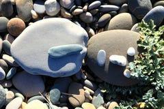 Kamienny mężczyzna. Fotografia Royalty Free