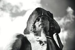 Kamienny mężczyzna Obrazy Royalty Free