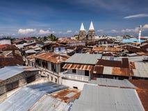 Kamienny miasteczko w Zanzibar obraz stock