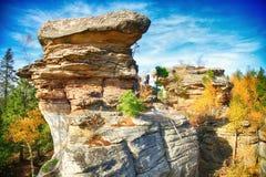Kamienny miasto Zdjęcia Stock