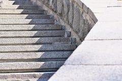 Kamienny miastowy schody obrazy stock