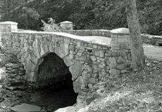 Kamienny most w drewnach -5 Obraz Stock