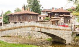 Kamienny most w halnym Koprivshtitsa, Bułgaria Zdjęcia Royalty Free