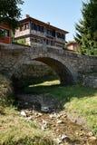 Kamienny most w Koprivshtitsa obraz stock