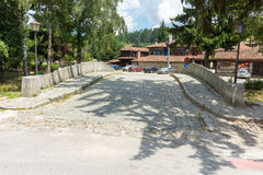 Kamienny most w Koprivshtitsa, Bułgaria Zdjęcie Stock