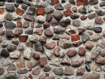 kamienny mur fotografia stock