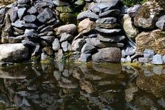 Kamienny odbicie Zdjęcie Stock