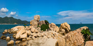 Kamienny ogrodowy Hon Chong Obraz Royalty Free
