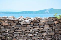 Kamienny ogrodzenie Obrazy Royalty Free