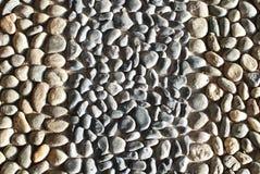 Kamienny otoczaka tło Fotografia Stock