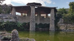 Kamienny pawilon Zdjęcie Stock