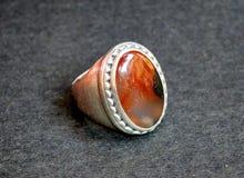 Kamienny pierścionek zdjęcie stock