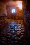 Kamienny podłogowy przejście w antycznym Hagia Sofia kościół Zdjęcie Royalty Free