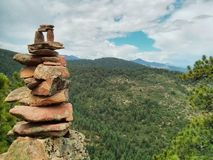 Kamienny portal Obrazy Royalty Free