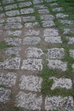 Kamienny przejście w forcie San Pedro, Cebu miasto, Filipiny obraz stock