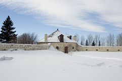 Kamienny Roundhouse Obraz Royalty Free