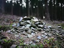 Kamienny rozsypisko Zdjęcia Stock