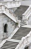 Kamienny schody obrazy stock