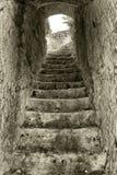 Kamienny schody Zdjęcie Royalty Free