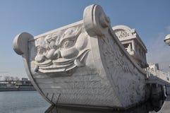 Kamienny statek Zdjęcie Royalty Free