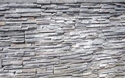Kamienny tło robić piaskowiec dekoracyjna ściana zdjęcia royalty free
