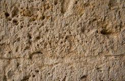 Kamienny tło z obliczającymi pęknięciami Obrazy Royalty Free