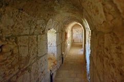 Kamienny tunel w Jerozolima, Izrael - Zdjęcia Royalty Free