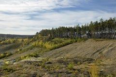 Kamienny łupu krajobraz Obrazy Stock