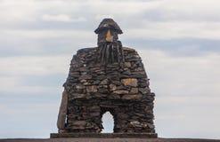 Kamienny Viking Zdjęcia Stock
