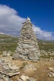 Kamienny wierza w Arktycznym okręgu Zdjęcie Stock