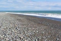 Kamienny wybrzeże morze Obraz Stock
