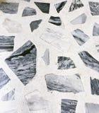 Kamienny wzór, wzór, Czarny i biały kamienia wzór Zdjęcie Stock