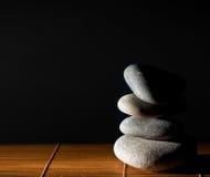 kamienny zen Zdjęcie Royalty Free