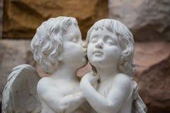 Kamienny zimny całowanie Fotografia Stock