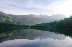 Kamigogi national Park, Japan. Kamigogi national park in early morning Stock Images