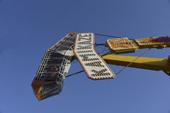 Kamikaze Carnival Ride Closeup Stock Photos