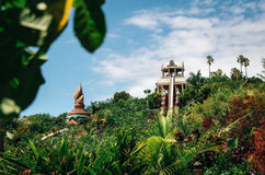 Kamikaze or Tower of Power in Siam Park, Tenerife Royalty Free Stock Photography