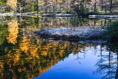 Kamikochi το φθινόπωρο Στοκ Εικόνα