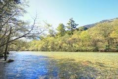 Kamikochi Imagen de archivo libre de regalías