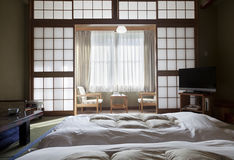 KAMIKOCHI,JAPAN- MAY 22,2016: traditional Japanese room in traditional style Royalty Free Stock Images
