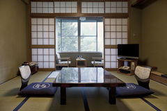 KAMIKOCHI,JAPAN- MAY 22,2016: traditional Japanese room in traditional style Stock Images