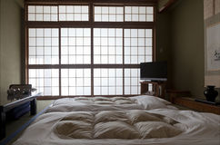 KAMIKOCHI,JAPAN- MAY 22,2016: traditional Japanese room in traditional style Royalty Free Stock Photo
