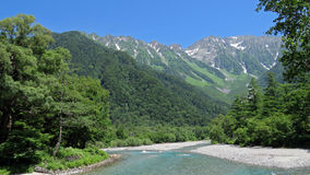Kamikochi in the Japanese Alps Royalty Free Stock Photography