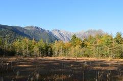 Kamikochi in Nagano Lizenzfreies Stockfoto