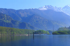 Kamikochi a Nagano, Giappone Immagine Stock Libera da Diritti